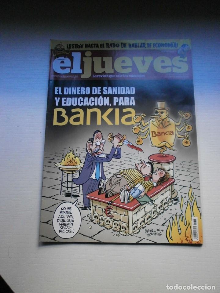 Coleccionismo de Revista El Jueves: 12 REVISTAS EL JUEVES - Foto 6 - 181508902