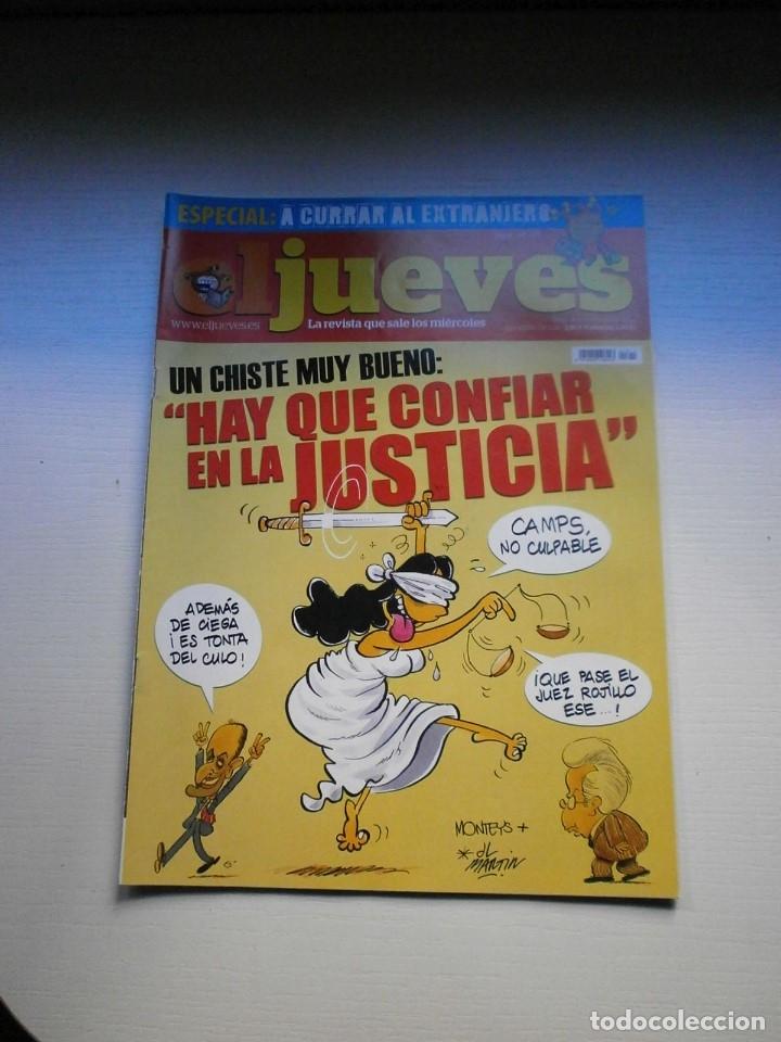 Coleccionismo de Revista El Jueves: 12 REVISTAS EL JUEVES - Foto 8 - 181508902