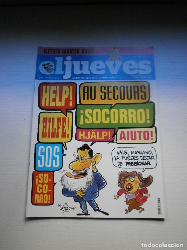 Coleccionismo de Revista El Jueves: 12 REVISTAS EL JUEVES - Foto 9 - 181508902