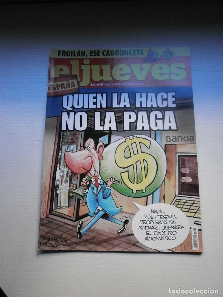 Coleccionismo de Revista El Jueves: 12 REVISTAS EL JUEVES - Foto 10 - 181508902
