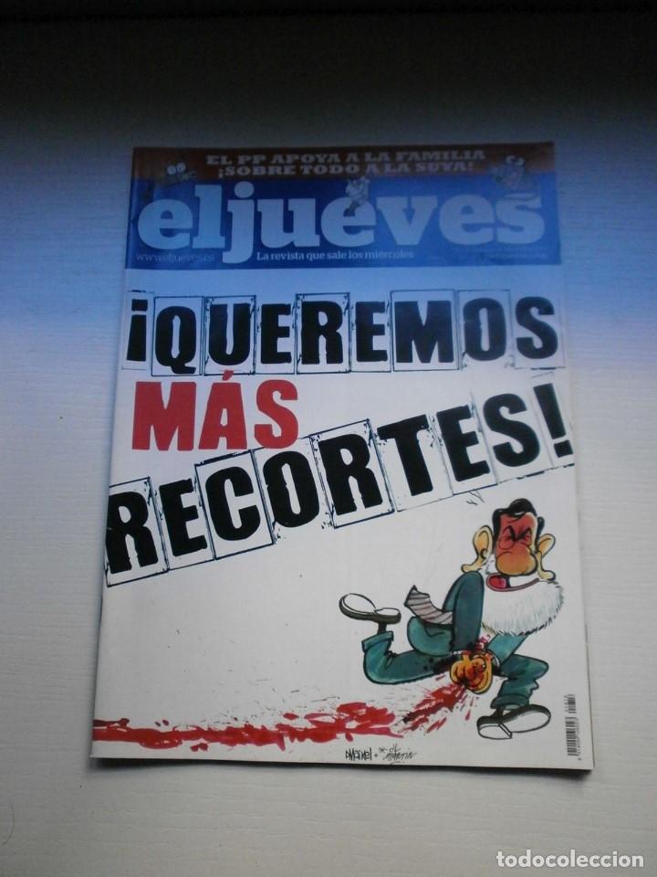 Coleccionismo de Revista El Jueves: 12 REVISTAS EL JUEVES - Foto 11 - 181508902