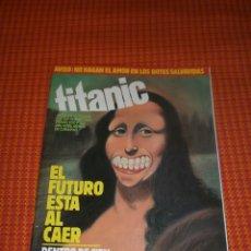 Coleccionismo de Revista El Jueves: TITANIC MENSUAL DE HUMOR Nº3. SEPTIEMBRE 1983.. Lote 182095910