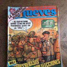 Coleccionismo de Revista El Jueves: JUEVES. Lote 182112921