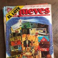 Coleccionismo de Revista El Jueves: JUEVES. Lote 182112983
