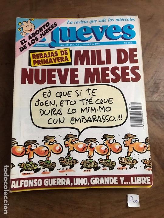 EL JUEVES (Coleccionismo - Revistas y Periódicos Modernos (a partir de 1.940) - Revista El Jueves)