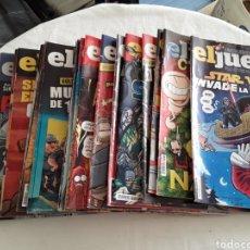Coleccionismo de Revista El Jueves: LOTE DE 19 REVISTAS EL JUEVES 2016. Lote 182206761