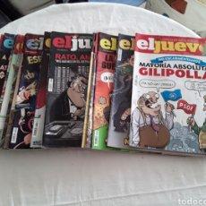 Coleccionismo de Revista El Jueves: LOTE DE 15 REVISTAS EL JUEVES 2015. Lote 182207075
