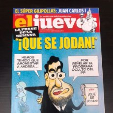 Coleccionismo de Revista El Jueves: EL JUEVES - QUE SE JODA. Lote 182215631