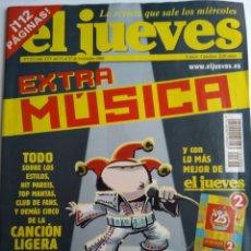 Coleccionismo de Revista El Jueves: EL JUEVES EXTRA MUSICA. Lote 182384047