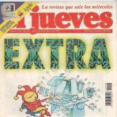 Coleccionismo de Revista El Jueves: REVISTA EL JUEVES NÚMERO 1033 DEL 12 AL 18 MARZO DE 1997. Lote 182422935
