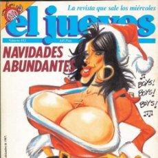Coleccionismo de Revista El Jueves: REVISTA DE HUMOR EL JUEVES 1987 PORTADA SABRINA SALERNO. Lote 182662020