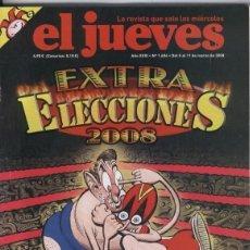 Coleccionismo de Revista El Jueves: EL JUEVES NÚMERO 1606 DEL 5 AL 11 DE MARZO DE 2008. Lote 182756842