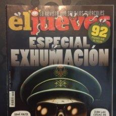 Coleccionismo de Revista El Jueves: EL JUEVES N.2193 ESPECIAL EXHUMACIÓN 2019. Lote 182901725