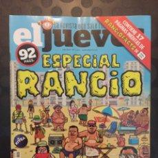 Coleccionismo de Revista El Jueves: EL JUEVES N.2203 . ESPECIAL RANCIO . 92 PP .. Lote 182901938
