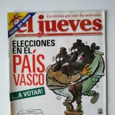 Coleccionismo de Revista El Jueves: REVISTA EL JUEVES Nº 1250. Lote 183182928