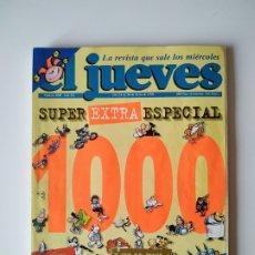 Coleccionismo de Revista El Jueves: EL JUEVES - Nº 1000. Lote 183184295