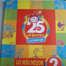 Coleccionismo de Revista El Jueves: EL JUEVES ESPECIAL 25 AÑOS. Lote 183288632