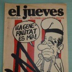 Coleccionismo de Revista El Jueves: REVISTA EL JUEVES AÑO I - NUMERO 16 - SEPTIEMBRE DE 1977.LA REVISTA QUE SALE LOS VIERNES.. Lote 183445165