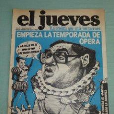 Coleccionismo de Revista El Jueves: REVISTA EL JUEVES AÑO I - NUMERO 18 - SEPTIEMBRE DE 1977.. Lote 183445168