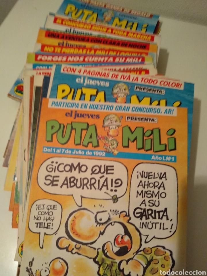 Coleccionismo de Revista El Jueves: Colección Puta Mili de la revista El Jueves - Foto 2 - 183745122
