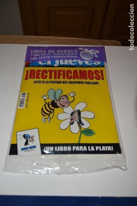 Coleccionismo de Revista El Jueves: REVISTA EL JUEVES Nº 1574 - DEL 25 AL 31 DE JULIO DE 2007 - EJEMPLAR RECTIFICATIVO AL Nº1573 - Foto 2 - 183745682