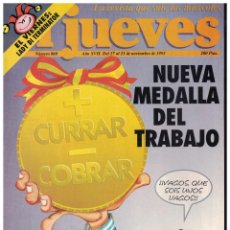 Collectionnisme de Magazine El Jueves: EL JUEVES Nº 860 - (1993). Lote 183983936