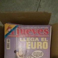 Coleccionismo de Revista El Jueves: REVISTA EL JUEVES AÑO COMPLETO 1999 (52 EJEMPLARES). Lote 149266966