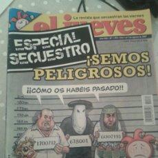 Coleccionismo de Revista El Jueves: LOTE 21 REVISTAS EL JUEVES. (AGOSTO 2007-ENERO 2008).. Lote 184140837