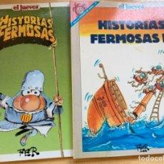Coleccionismo de Revista El Jueves: EL JUEVES 2 NÚMEROS EXTRAS DE HISTÓRIAS FERMOSAS. Lote 184352431