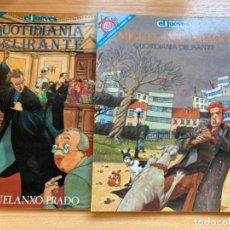 Coleccionismo de Revista El Jueves: EL JUEVES 2 NÚMEROS EXTRAS DE MIGUELANXO PRADO. Lote 184352745