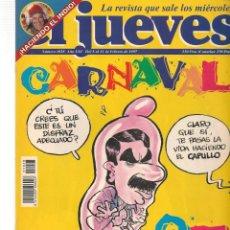 Coleccionismo de Revista El Jueves: EL JUEVES. Nº 1028. CON POSTER. 11 FEBRERO 1997. (ST/SL). Lote 184490028