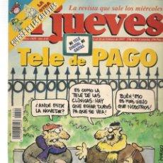 Coleccionismo de Revista El Jueves: EL JUEVES. Nº 1029. CON POSTER. 18 FEBRERO 1997. (ST/SL). Lote 184490063