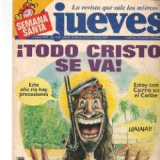 Coleccionismo de Revista El Jueves: EL JUEVES. Nº 1035. CON POSTER. 26 MARZO 1997. (ST/SL). Lote 184490196