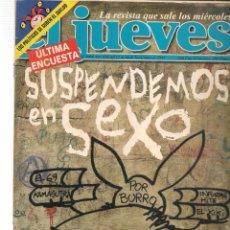 Coleccionismo de Revista El Jueves: EL JUEVES. Nº 1068. CON POSTER. 18 NOVIEMBRE 1997. (ST/SL). Lote 184490753