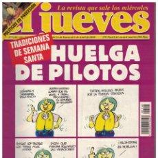 Collectionnisme de Magazine El Jueves: EL JUEVES Nº 1140 (1999). Lote 185734290