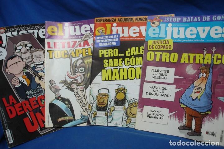 EL JUEVES Nº 1844, 1854, 1892, 2153 - 4 UNIDADES (Coleccionismo - Revistas y Periódicos Modernos (a partir de 1.940) - Revista El Jueves)