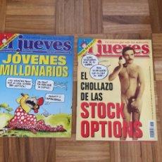 Coleccionismo de Revista El Jueves: LOTE REVISTAS EL JUEVES AÑO 1999. Lote 186294742