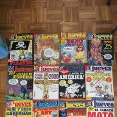 Coleccionismo de Revista El Jueves: LOTE REVISTAS EL JUEVES AÑO 2000. Lote 186295120