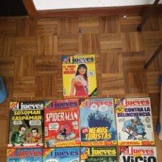 Coleccionismo de Revista El Jueves: LOTE RESVISTAS EL JUEVES AÑO 2002. Lote 186295340
