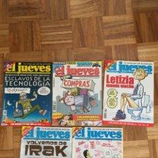 Coleccionismo de Revista El Jueves: LOTE REVISTAS EL JUEVES AÑO 2003. Lote 186296101