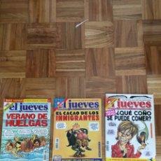 Coleccionismo de Revista El Jueves: LOTE REVISTAS EL JUEVES AÑO 2001. Lote 186296298