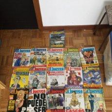 Coleccionismo de Revista El Jueves: LOTE REVISTAS EL JUEVES AÑO 2004. Lote 186296577