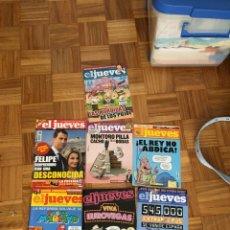 Coleccionismo de Revista El Jueves: LOTE REVISTAS EL JUEVES. Lote 186296796