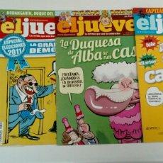 Coleccionismo de Revista El Jueves: REVISTAS EL JUEVES. Lote 186344901