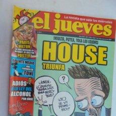 Coleccionismo de Revista El Jueves: REVISTA EL JUEVES - Nº 1554 - MARZO 2007.. Lote 186345306