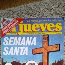 Coleccionismo de Revista El Jueves: 22 REVISTAS JUEVES , 18. = AÑO 87 / 1 = 85 / 1 = 86 / 1 = 88 / 1 = 98. Lote 187292843