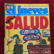 Coleccionismo de Revista El Jueves: EL JUEVES EXTRA SALUD NUMERO 563 MARZO DE 1988. Lote 187297128
