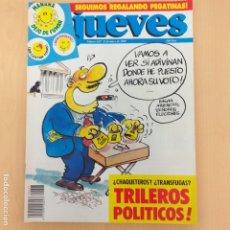 Coleccionismo de Revista El Jueves: EL JUEVES NUM 627. TRILEROS POLITICOS. Lote 187303303