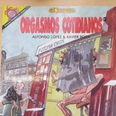 Coleccionismo de Revista El Jueves: PENDONES DEL HUMOR NUM 77 ORGASMOS COTIDIANOS (2). Lote 187308811