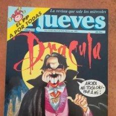 Coleccionismo de Revista El Jueves: EL JUEVES NUM 819 DRACULA.. Lote 187309395